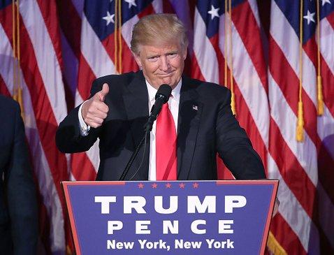 トランプ大統領は上院で共和党が過半数よりも議席をさらに増やしたことを自画自賛していたという (C)Mark Wilson/Getty Images